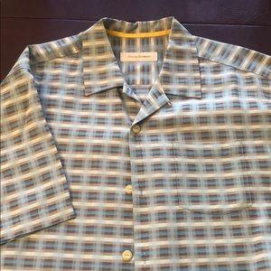 Tommy Bahama Silk cotton blend XL Men's shirt